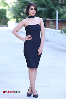 Actress Raashi Khanna Latest Pictures in Black Short Dress  0007