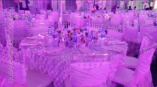 Fairy tale theme decor complete with crystal