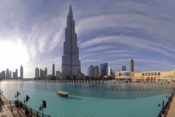 Burj Khalifa, Gedung Tertinggi di Dunia
