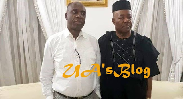 After Years Of Political Conflict, Amaechi And Akpabio Reconcile In Abuja