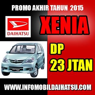 Promo Daihatsu Xenia 2015, Promo Xenia Bandung, Daihatsu Xenia Promo