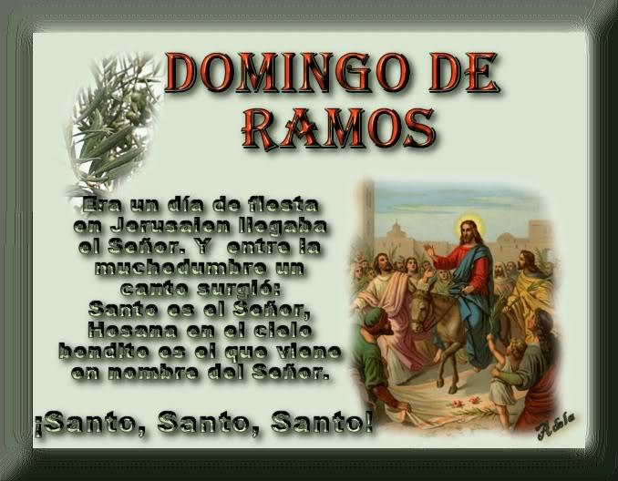Imagens E Frases De Domingo: Domingo De Ramos