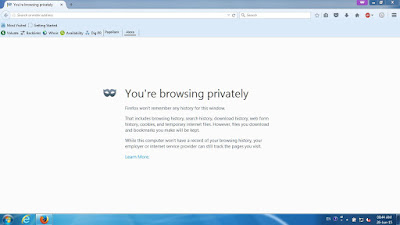 Mozilla Firefox - Private Browsing