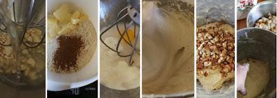 Herbstliches Brot mit Nashibirne und Walnüssen - Zubereitung Hefeteig