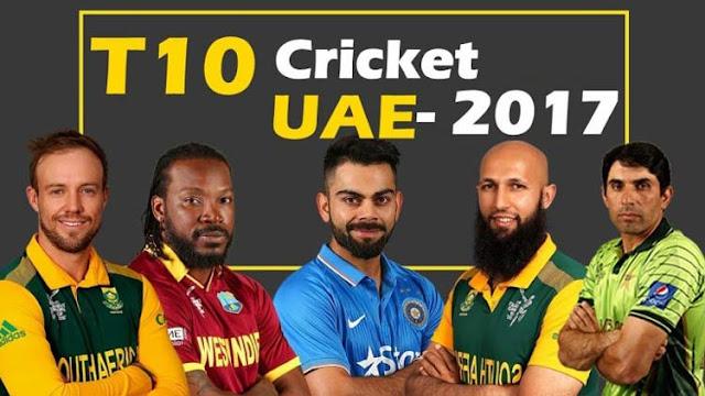 T10 Cricket League 2017 Predictions Betting Tips (TCL 2017 Predictions)