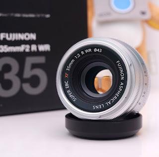 Lensa Fujinon XF 35mm F2 WR Bekas