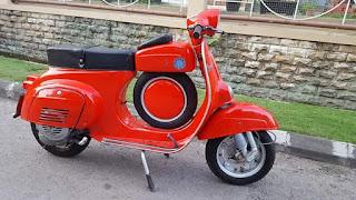 Dijual vespa Super sprint th' 66 no paper