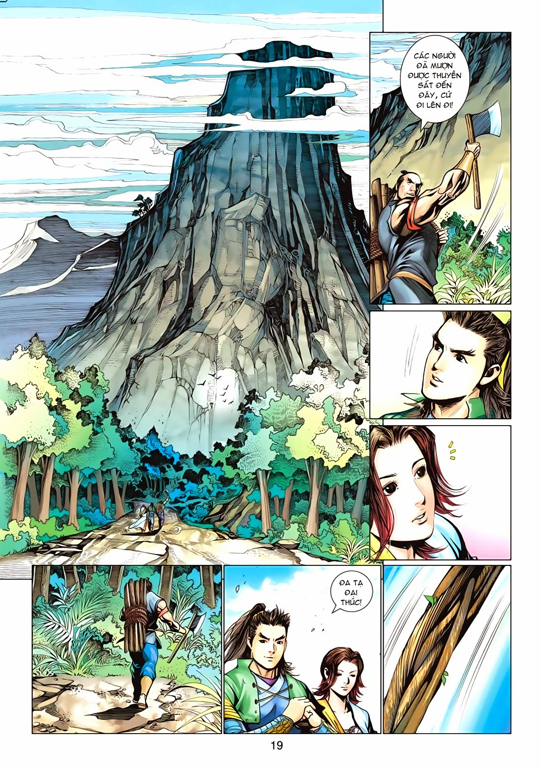 Anh Hùng Xạ Điêu anh hùng xạ đêu chap 72: ngư tiều canh độc trang 19