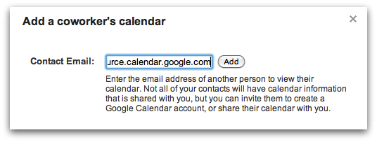 How to Create & Share Resources in Google Calendars - Google