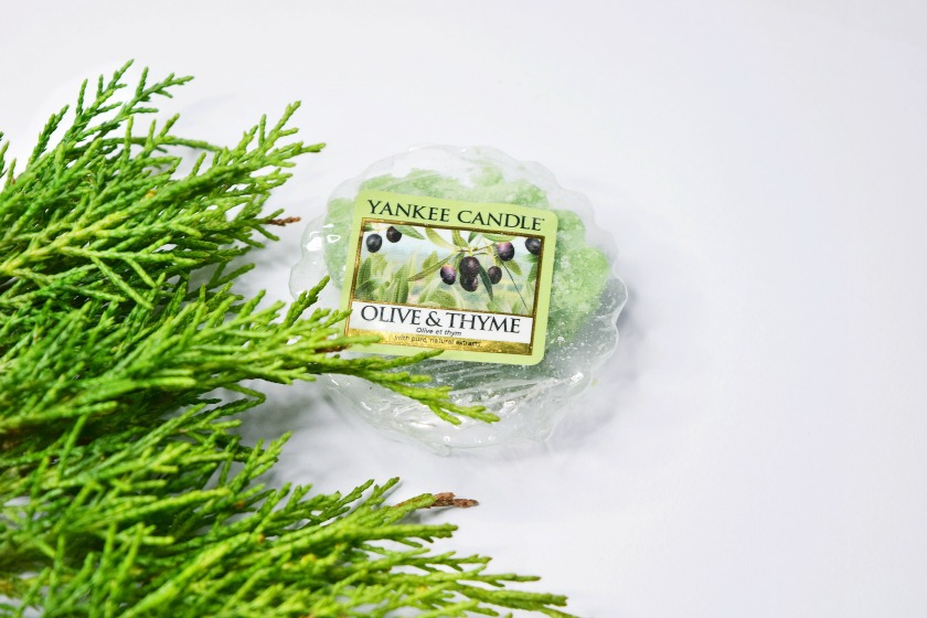 YANKEE CANDLE / OLIVE&THYME Z LINII CLASSIC