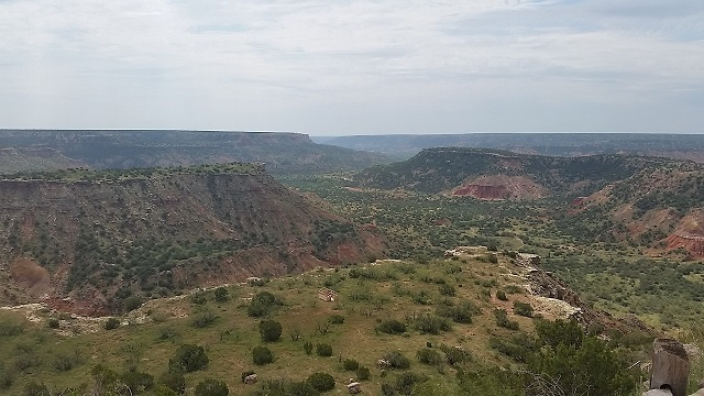 A day at Palo Duro Canyon State Park in the Texas Panhandle does wonders for humbling an overgrown ego.