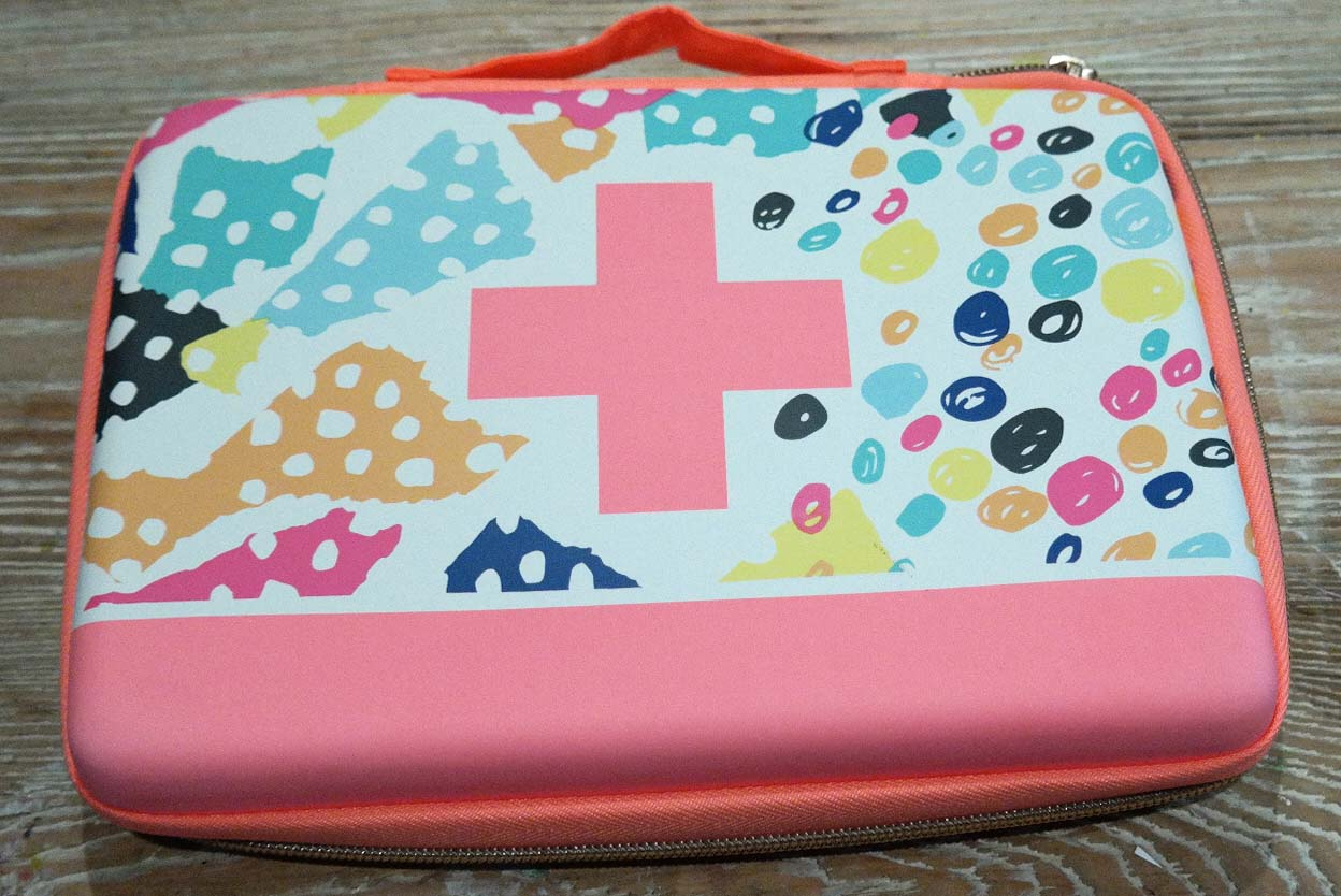 Artful Play Oh Joy Target First Aid Case Re Purposed