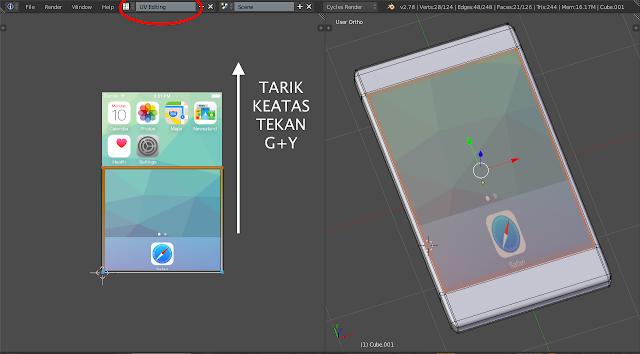 Mengatur ukuran tekstur screenshoot