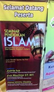 """Seminar Pendidikan Islam """"Mewujudkan Pendidikan Berbasis Aqidah Islam"""""""