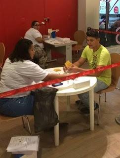 Shopping Bay Market promove ação social em parceria com o Grupo Pela Vidda