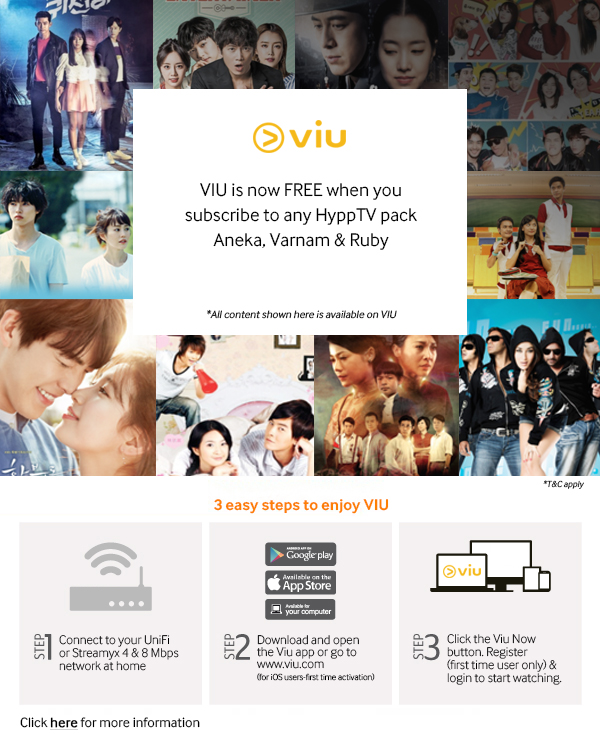 VIU is Now FREE for Subscribers of Aneka, Varnam & Ruby