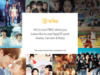 VIU is Now FREE for Subscribers of Aneka, Varnam & Ruby HyppTV Pack