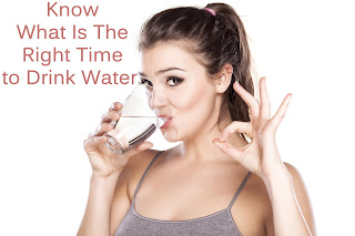 Drink Water At Right Time