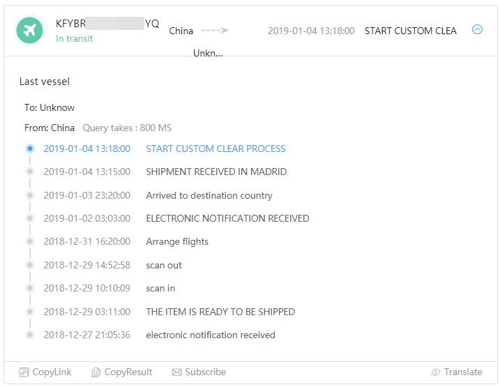 ab0604c26 Como pode notar o pacote está parado em Madrid desde o dia 04 de Janeiro,  segundo minhas pesquisas em 7 dias ele deve ir para outro país Europeu e  então no ...