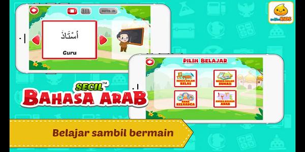 Aplikasi Edikuasi Belajar Bahasa Arab + Suara