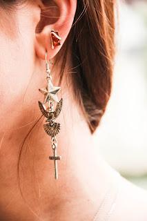 Boucles d'oreilles Tally Weij
