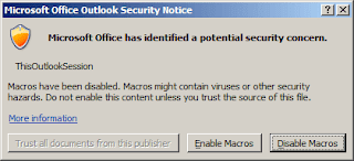 Outlook Hack - Blank Mail Subject Reminder