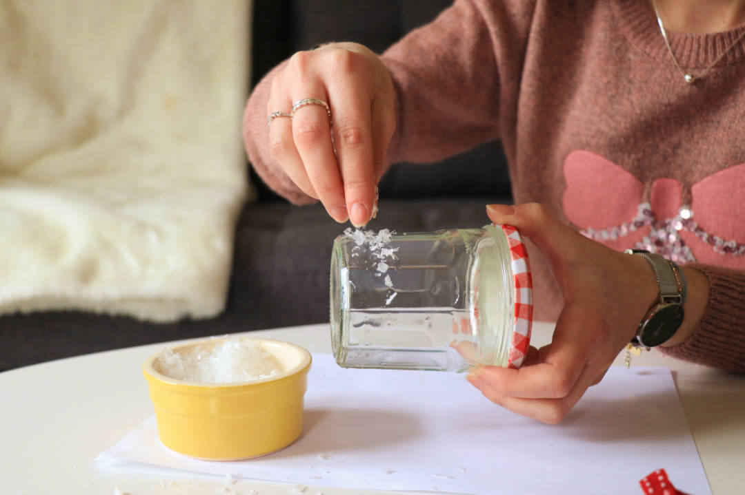les gommettes de melo diy do it yourself bonne maman jar à voeux pot à confiture