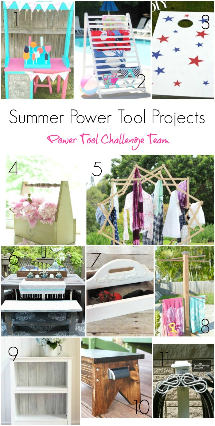 11 Creative Summer Power Tool Projects