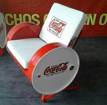 kursi ruang keluarga dari drum