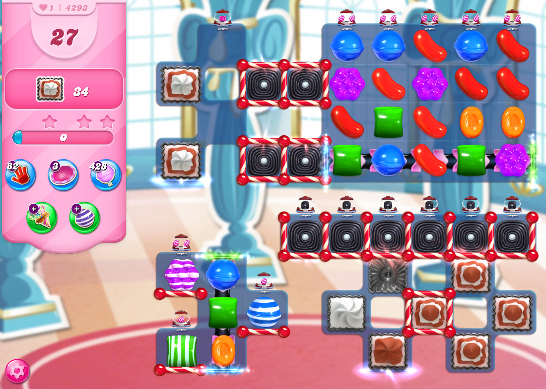 Candy Crush Saga level 4293