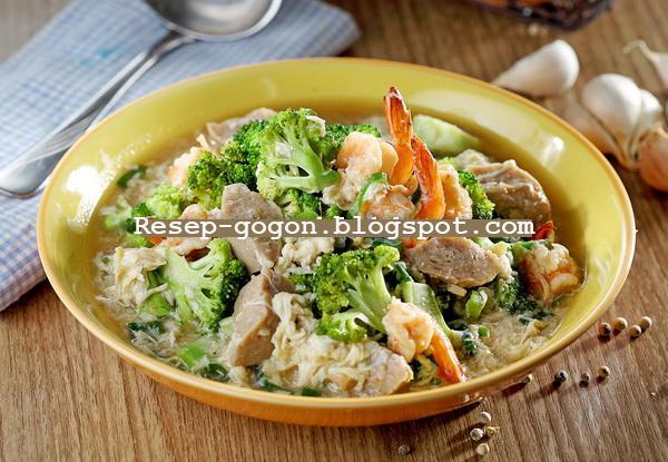 Resep Brokoli Siram Telur Kocok