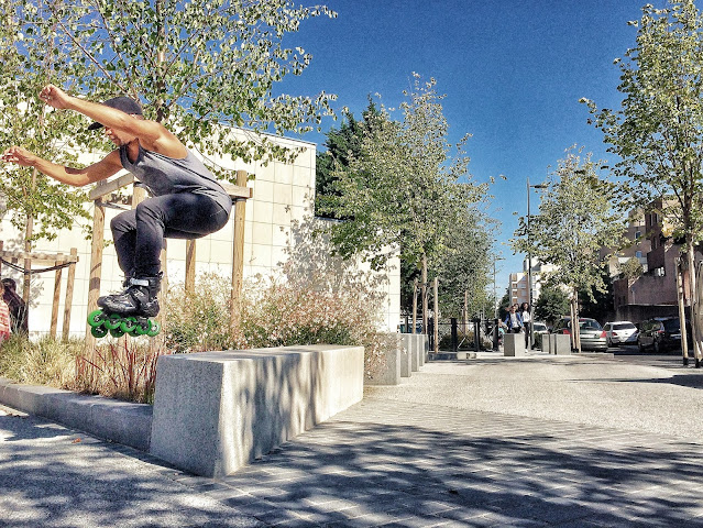 powerslide rollerblade freeskate evry skatecross cours roller club association
