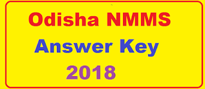 Odisha NMMS Answer Key 2018
