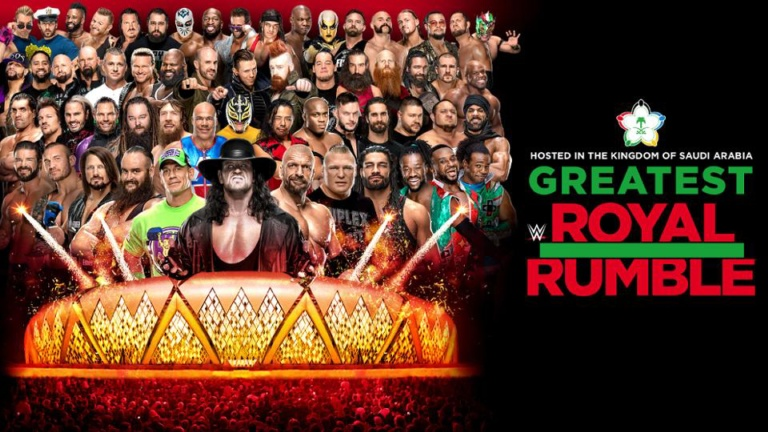 Watch WWE Greatest Royal Rumble Online Free 2018 Putlocker