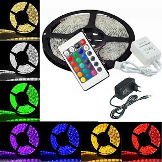 STRISCIA LED 5050 RGB