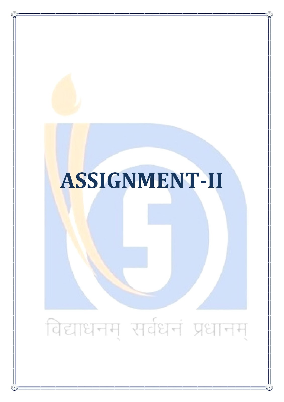 cyber web  nios d el ed  assignment cover page design free