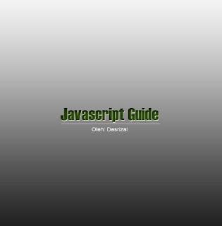 Ebook Javascript Guide