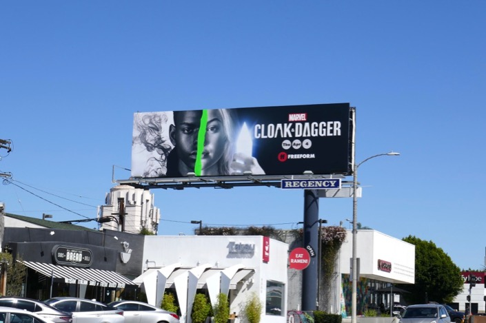 Cloak and Dagger season 2 billboard