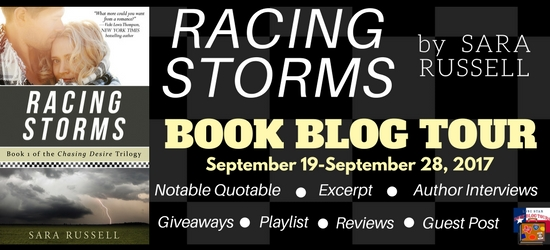 Racing Storms Book Blog Tour, Author Interview, and Giveaway #LoneStarLit
