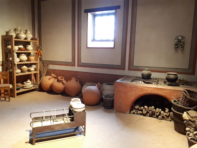 Roman kitchen in Romer museum Xanten