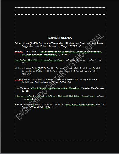 Contoh Daftar Pustaka Kutipan Dari Jurnal