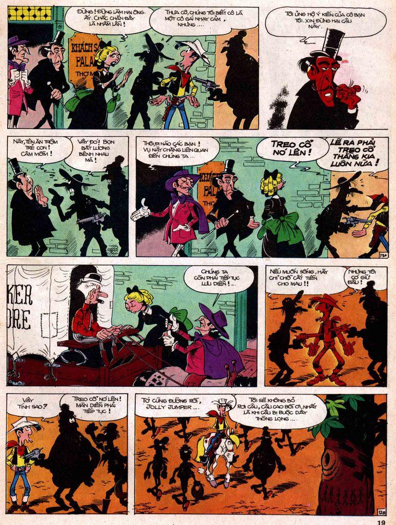 Lucky Luke tap 18 - ki si ao trang trang 17