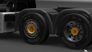 Yellow Sirius wheels