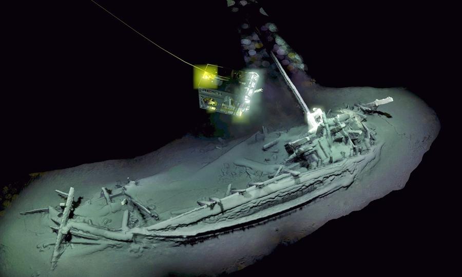 Ενιαίος κόσμος του πολεμικού σκάφους που χρονολογείται