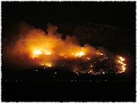 Krilo Jesenice požar slike otok Brač Online