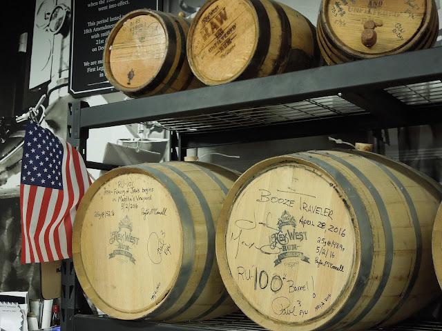 First Legal rum barrels