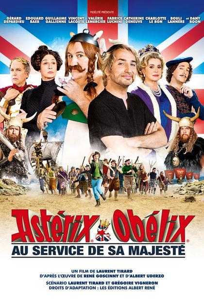 Astérix Et Obélix : Au Service De Sa Majesté : astérix, obélix, service, majesté, Cours, Français:, Astérix, Obélix, Service, Majesté