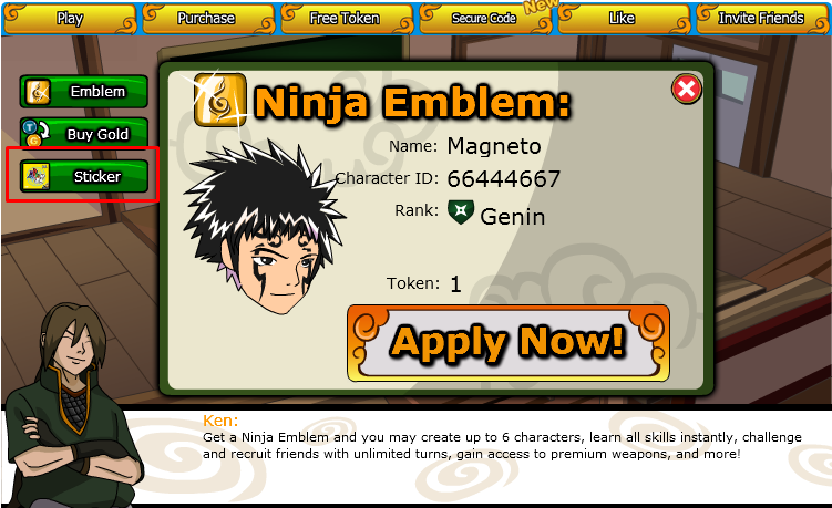 ninja saga hack emblem 100% working!