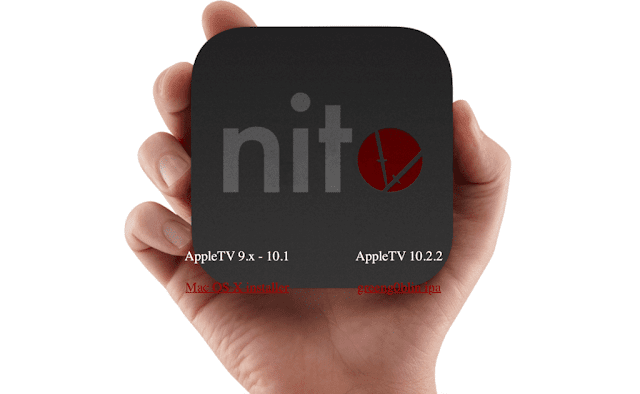 nitoTV-tvOS Finally, the wait was released in nitoTV for jailbreak of the AppleTV Apple