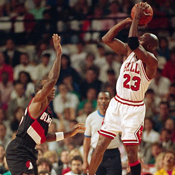 DAR Sports: 1992 NBA Finals- Chicago Bulls Vs Portland